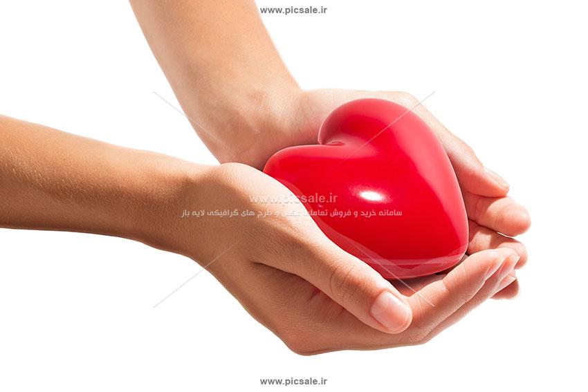 0010148 - قلب قرمز عاشقانه