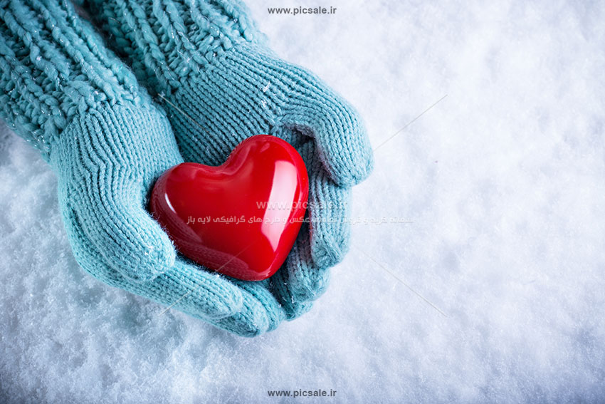 0010151 - قلب قرمز عاشقانه