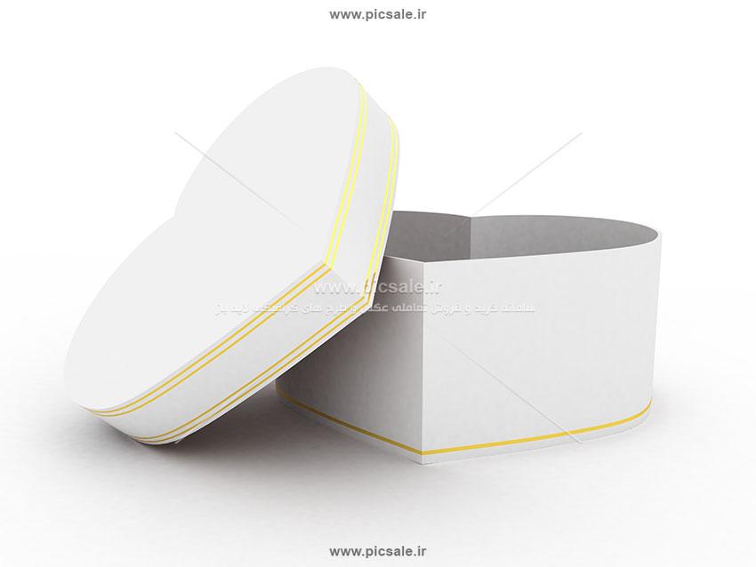 001030 - جعبه کادو یا هدیه قلبی عاشقانه