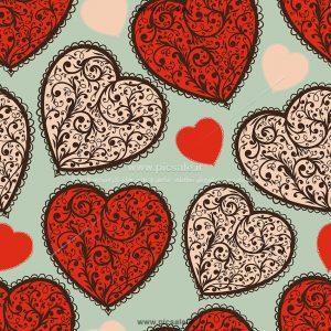 001043 300x300 - قلب اسلیمی سنتی عاشقانه