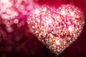 001061 300x200 - قلب با تشعشع نور عاشقانه