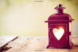 00999 300x203 - چراغ فانوس قلبی زیبا