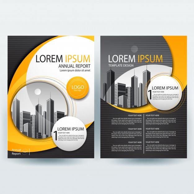 0493s - لایه باز بروشور و کاتالوگ تجاری / ساختمانی