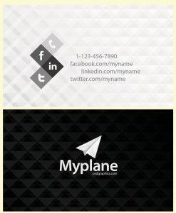 p110 247x300 - لایه باز کارت ویزیت مدرن مشکی سفید