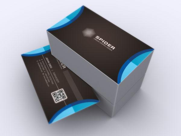 BIZ 106 3 - دانلود لایه باز کارت ویزیت / مدرن
