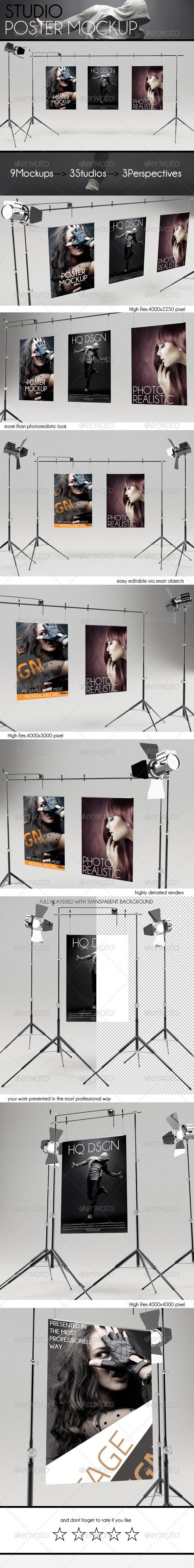 P251 - لایه باز پکیج عظیم موکاپ استدیویی حرفه ای psd فوق العاده