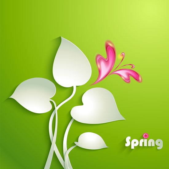 01189s - لایه باز وکتور گلهای بهاری زیبا