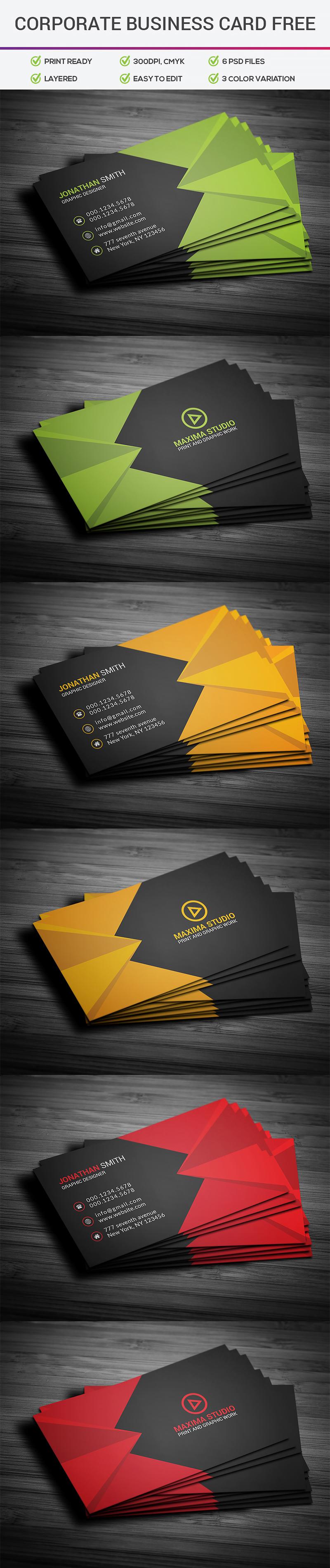 p323 - لایه باز کارت ویزیت تجاری اداری ساده و شیک