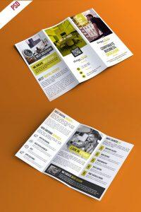 p405 200x300 - لایه باز بروشور سه لت کاتالوگ خلاقانه معرفی خدمات شرکت تجاری بازرگانی