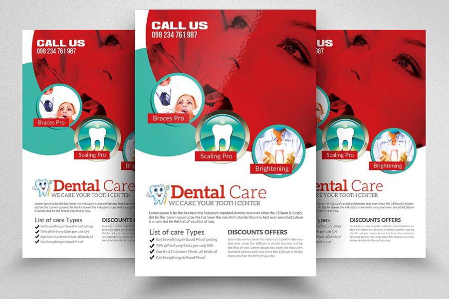 m120 - دانلود لایه باز تراکت یا پوستر دندانپزشکی و مراقبت دندان