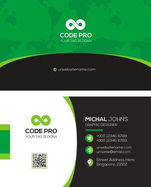 m56 - لایه باز کارت ویزیت / تجاری / کسب و کار / مدرن / معرفی شرکت