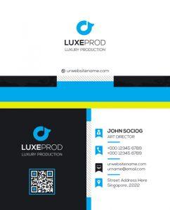 m61 242x300 - لایه باز کارت ویزیت / تجاری / کسب و کار / مدرن / معرفی شرکت