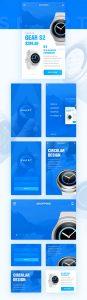 p548 87x300 - قالب اپلکیشن فروشگاهی آبی / اینترفیس UX و UI موبایل اندورید و ios با صفحات خرید، عضویت و ورود
