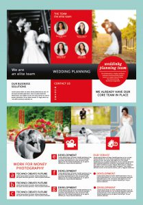 p695 209x300 - لایه باز بروشور سه لت معرفی آتلیه عروس، عکاسی و عروسی